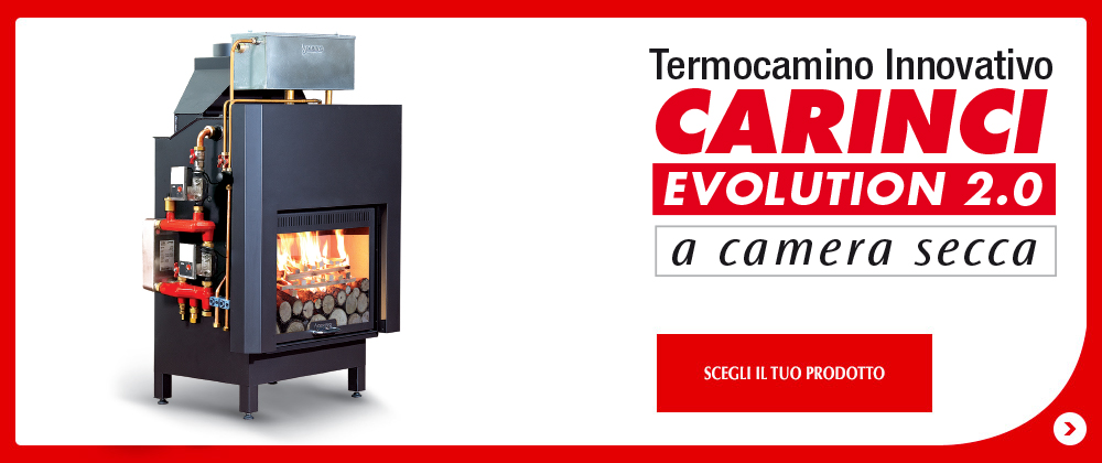 Termocamini termocamino combinato kw carinci with for Ftl termocamini
